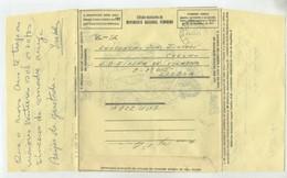 AEROGRAMA PORTUGAL Isento Oferta TAP / Movimento Nacional Feminino / Aerogramme ANGOLA AFRICA - Free Postage 1973 - Telegraaf
