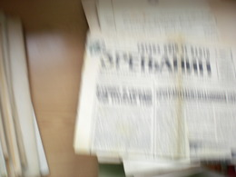 Zrenjanin Medjuopstinski List Socialistickog Saveza  1970 - Zeitungsmarken