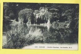 * Lille - Rijsel (Dép 59 - Nord - France) * (E.C., Nr 135) Jardin Vauban, La Grotte, étang, Parc, Rare, Old - Lille