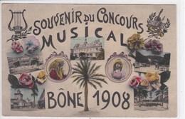 ALGERIE BONE Souvenir Du Concours Musical 1908 - Algérie