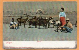 Types Napoli Italy 1905 Postcard - Napoli