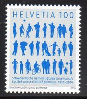 Suisse Helvetia 2082 Bénévoles, Chien, Ballon, Bicyclette - Organisaties
