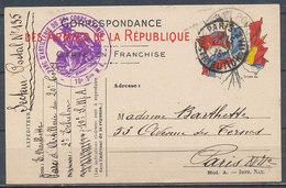 FRANCE - 1914 - Corespondance Des Armées - Guerres