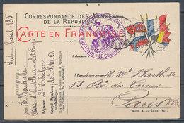 FRANCE - 1915 - Corespondance Des Armées - Guerres