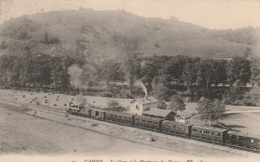 ***  64  *** CAMBO LES BAINS   La Gare Et La Montagne Des Dames Timbrée TTB - Cambo-les-Bains