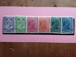 LIECHTENSTEIN 1917 - Principe Giovanni II° - Nn. 4/9 Nuovi * + Spese Postali - Unused Stamps