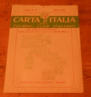 Carta D'italia Del Touring Club Italiano. Foglio 6. Belluno. 1952. - Autres