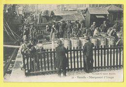 * Marseille (Dép 13 - Bouches Du Rhone - France) * (Phototypie E. Laceur, Nr 32) Débarquement Des Oranges, Marchands - Altri