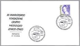 GRUPO MICOLOGICO JONICO-ETNEO. Setas - Mushrooms. Riposto, Catania, 2004 - Hongos