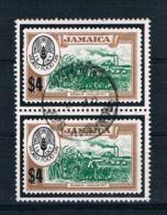 Jamaica 1981 Mi.Nr. 515 Senkr. Paar Gestempelt - Jamaica (1962-...)