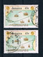 Jamaica 1990 Mi.Nr. 753 2 Mal Gestempelt - Jamaica (1962-...)