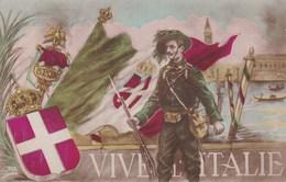 LOT//363.....10 CPA PATRIOTIQUES ...LES ITALIENS - 5 - 99 Postkaarten