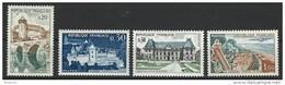 """FR YT 1330 1333 1351 1355 """" Villes Et Sites """" 1962 Neuf** - France"""