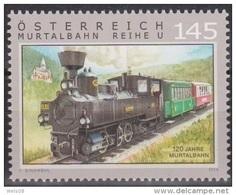 """Österreich 2014:   """"Murtalbahn""""    Postfrisch (siehe Foto/Scan) - 2011-... Ungebraucht"""