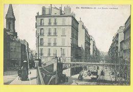 * Marseille (Dép 13 - Bouches Du Rhone - France) * (nr 782) Le Cours Lieutaud, Tram, Vicinal, Pont, Animée - Marsiglia