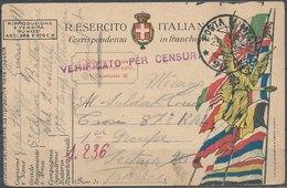 ITALY - 1918,  Posta Di Campo - Occupation 1ère Guerre Mondiale