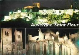 15 - Saint Flour - Multivues - Vue De Nuit - Voir Scans Recto-Verso - Saint Flour