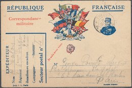 FRANCE - 1915, Correspondance Des Armées - Guerres