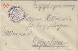 DR - Osnabrück (Bad Blenhorst) Ca. 1917, Kriegsgefangenenbrief N. DÄNEMARK  - Germany