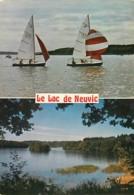 19 - Neuvic D'Ussel - Le Lac - Multivues - Voile - Voir Scans Recto-Verso - France