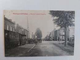 Carte Postale Belgique, Montigny-Le-Tilleul, Rue De Gozée (Chapelle) - Montigny-le-Tilleul