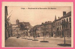 Liège - Boulevard De La Sauvinière - Saint Martin - St - 1949 - Liege
