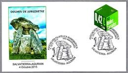 DOLMEN DE SORGINETXE. Salvatierra-Agurain, 2015 - Vor- Und Frühgeschichte