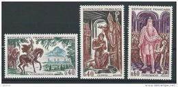 """FR YT 1495 à 1497 """" Grands Noms De L'Histoire """" 1966 Neuf** - Ungebraucht"""