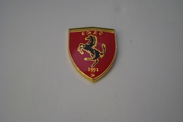 20191218-3838 LOGO FERRARI ROUGE « ENZO 1991 » VOITURE AUTOMOBILE - Ferrari
