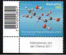 Suisse Helvetia 2114 Molécule De La Vitamine C, Acide Ascorbique - Scheikunde