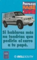 Ecuador - Bell South - Blue Car - Ecuador