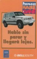 Ecuador - Bell South - Orange Car - Ecuador