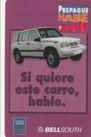 Ecuador - Bell South - Violet Car - Ecuador