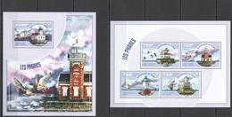 Phare Lighthouse Vuurtoren Leuchttürme Faro Fari NIGER 2014 NEUF** MNH - Lighthouses