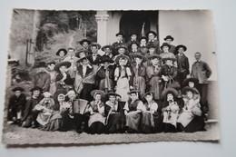 CPSM - FAUCOGNEY (70) - Groupe Folklorique Correvrots, Correvrottes Et Vaudis - Andere Gemeenten