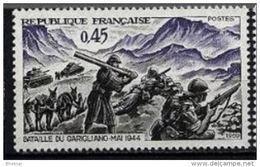 "FR YT 1601 "" Victoire De Garigliano "" 1969 Neuf** - France"