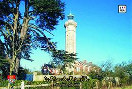 Set 6 Cartes Postales, Phares, Lighthouses Of Europe, France, Fatouville-Grestain, Le Phare De Fatouville - Vuurtorens