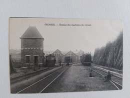 Carte Postale Belgique, Oignies -Remise Des Machines Du Vicinal - Belgique