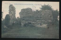 PHILIPPEVILLE SAUTOUR  LES RUINES - Philippeville