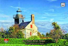 Set 6 Cartes Postales, Phares, Lighthouses Of Europe, France, Saint-Samson-de-la-Roque, Le Phare De La Roque - Vuurtorens