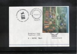 Slowenien / Slovenia 2002 Chess Olympiad Interesting Letter - Schach