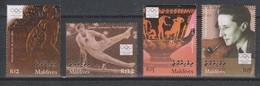 Olympics 2004 - Gymnastics - MALDIVES - Set MNH - Ete 2004: Athènes