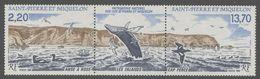 1988St Pierre And Miquelon566-567stripNatural Heritage9,00 € - Meereswelt