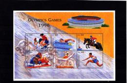Olympics 1996 - Equestrian - Boxing - SIERRA LEONE - Sheet MNH - Ete 1996: Atlanta