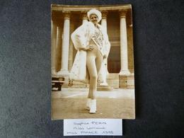 Sophie Perin  Miss France 1975  Miss Lorraine  Photo - Photos