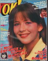 OK ! N° 364 01-1983 - SOPHIE MARCEAU - J.J. GOLDMAN - PAT BENATAR - DANIEL BALAVOINE - Musique
