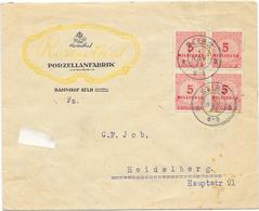 DR Infla Brief Mef. Mi.317 Selb 1.11.23 - Germania