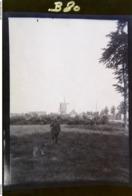 Militaire Et Son Chien - Paysage Avec Moulin -vue Animée  - Superbe Photo Ancienne  - N° B80 - Oorlog, Militair