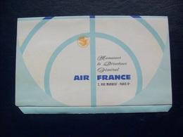 Feuillet Air France -vBoeing, Caravelle - Monde