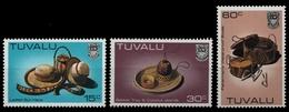 Tuvalu 1984 - Mi-Nr. 221-223 ** - MNH - Handwerk - Tuvalu (fr. Elliceinseln)